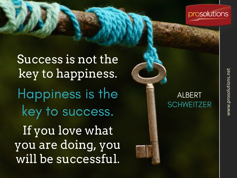Albert Schweitzer - Success Key.png