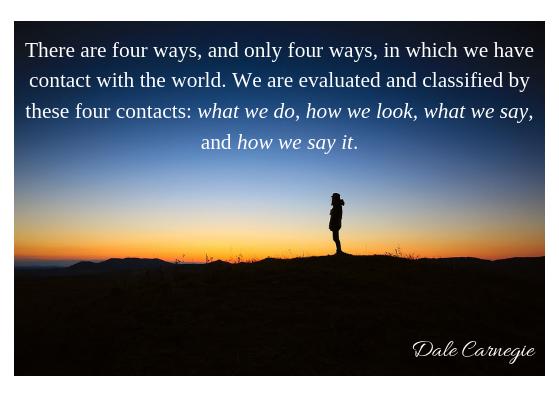Dale Carnegie- 4 ways evaluated
