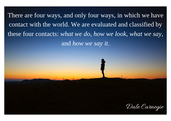Dale Carnegie- 4 ways evaluated