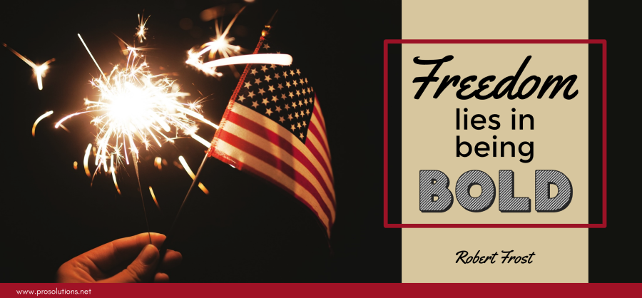 ProSolutions - Freedom in Boldness