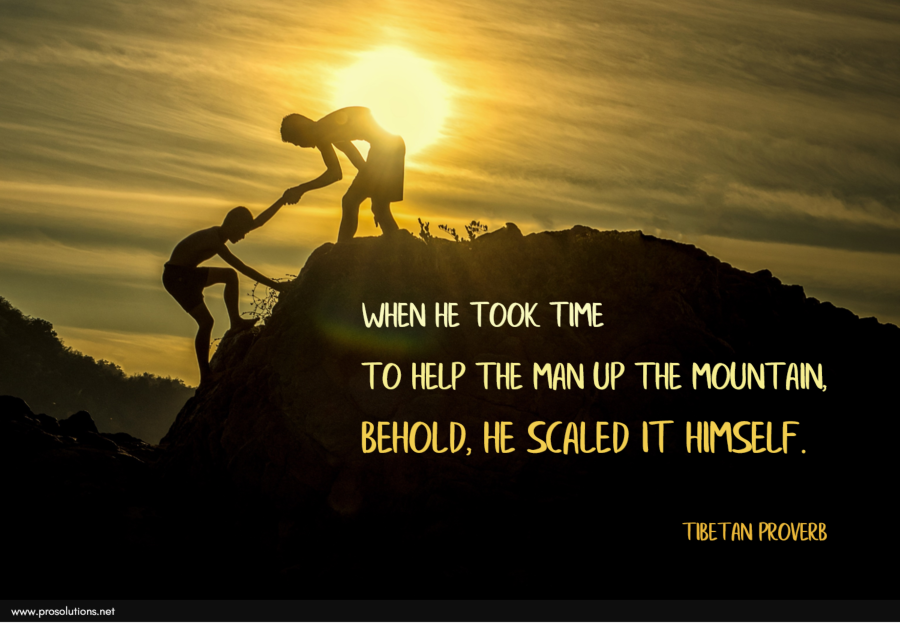 ProSolutions - Help Up the Mountain