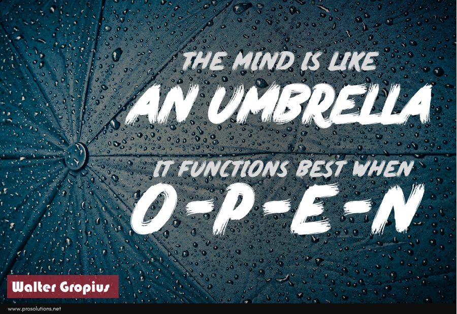ProSolutions - Mind Like an Umbrella