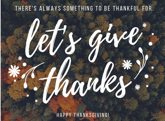 """Giving Thanks Isn't Just """"Thank You"""""""